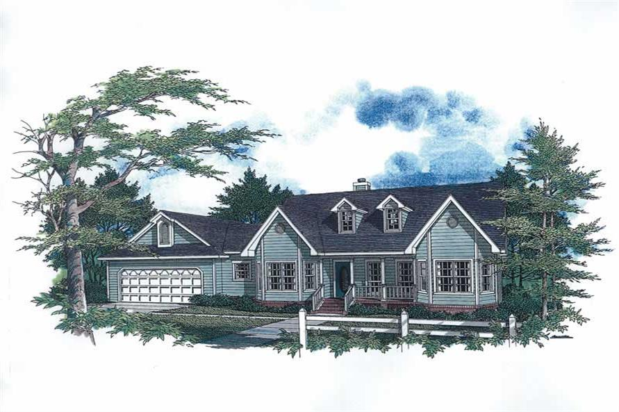 Main image for house plan # 11229