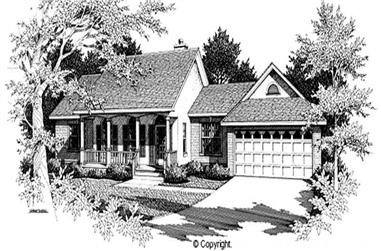 Main image for house plan # 11221