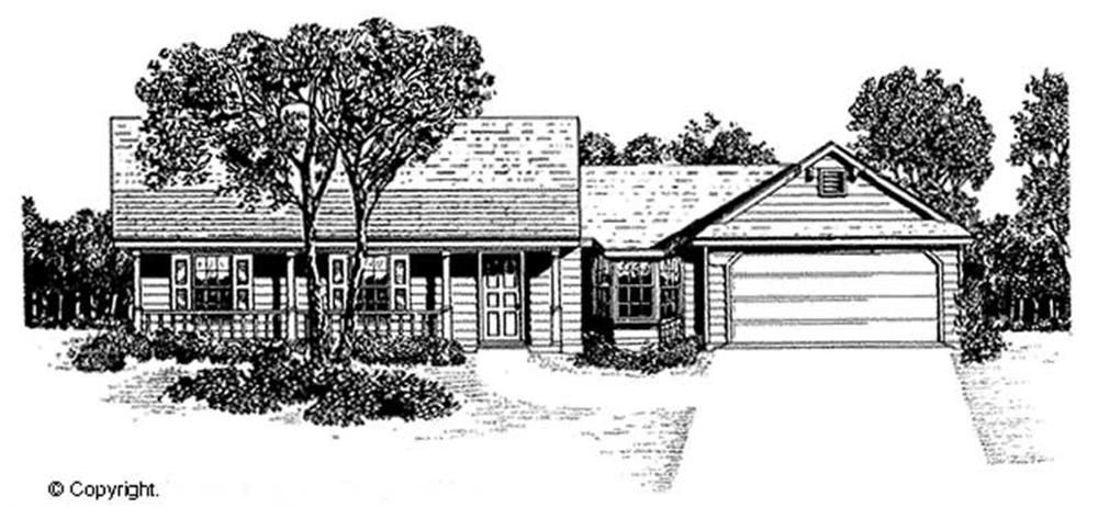 Main image for house plan # 11213