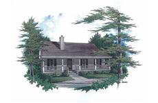 Main image for house plan # 11206
