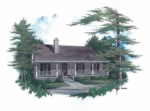 Main image for House Plan # 174-1043