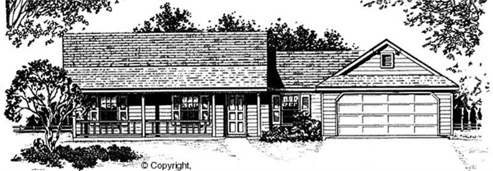 Main image for house plan # 11198