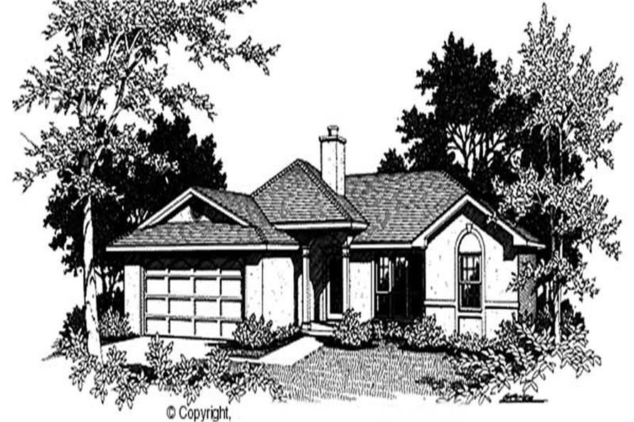 Main image for house plan # 11197