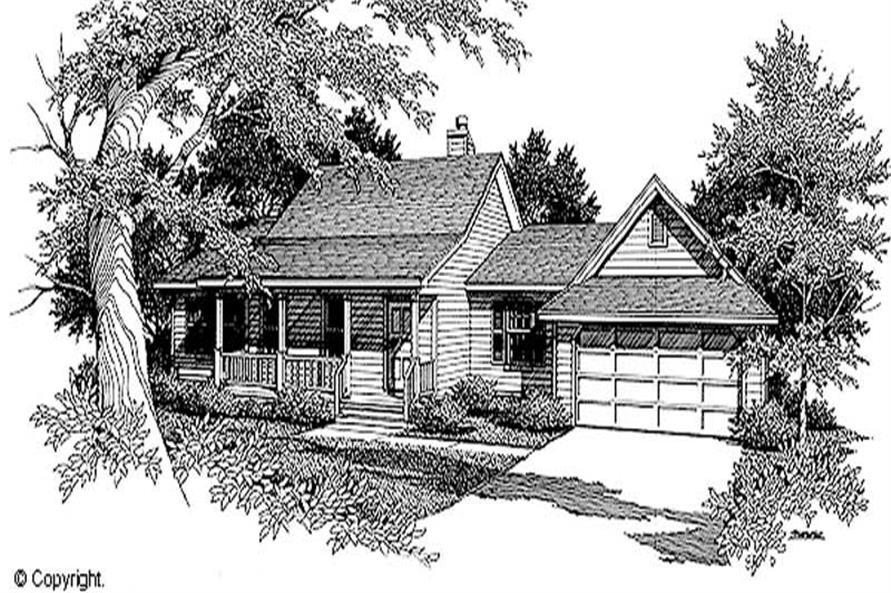 Main image for house plan # 11211