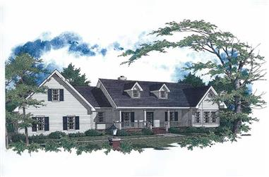 Main image for house plan # 11257