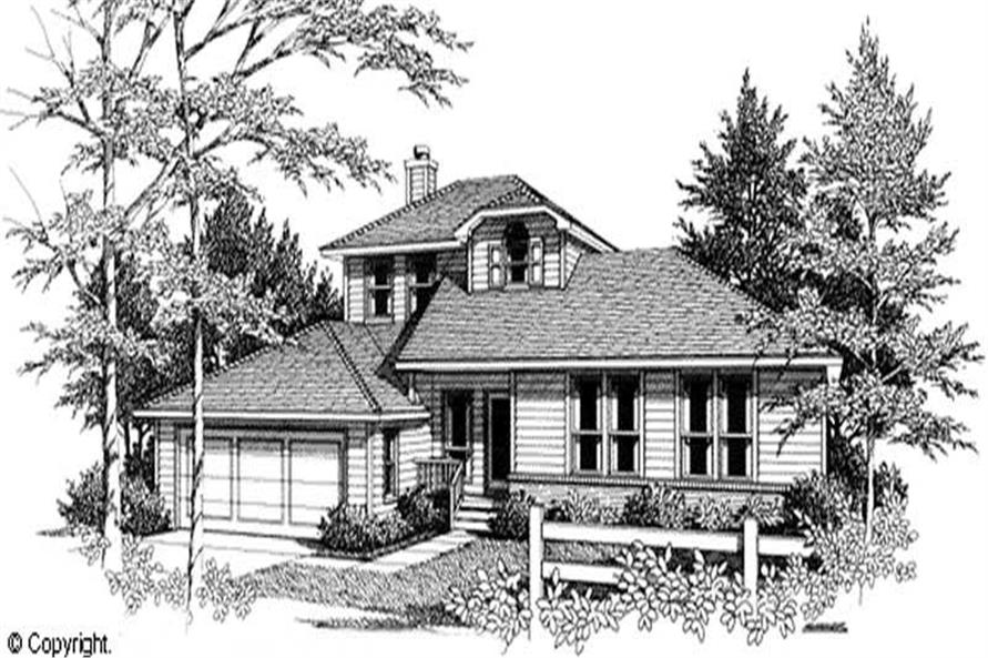 Main image for house plan # 11254