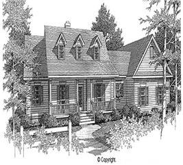 House Plan #174-1058