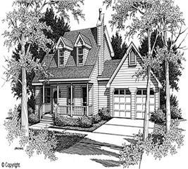 House Plan #174-1059