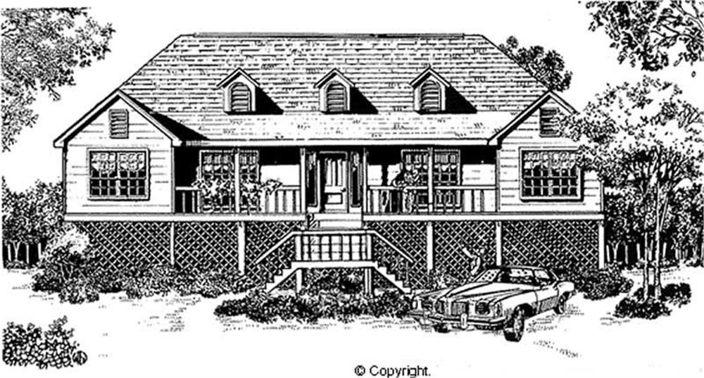 Main image for house plan # 11248