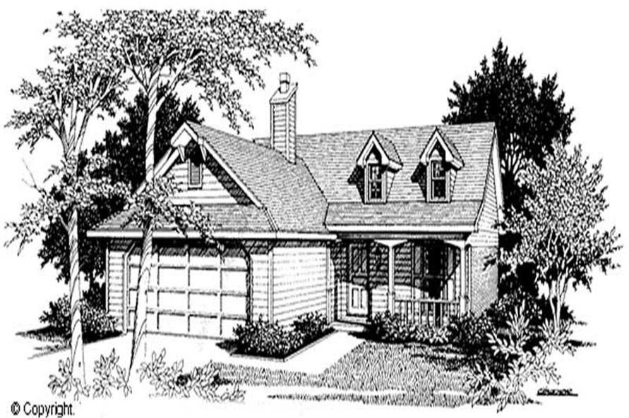 Main image for house plan # 11208
