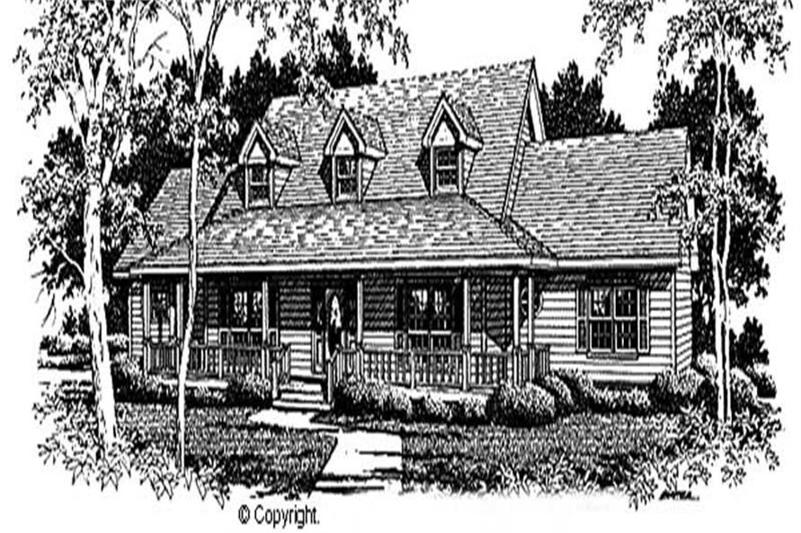 Main image for house plan # 11289