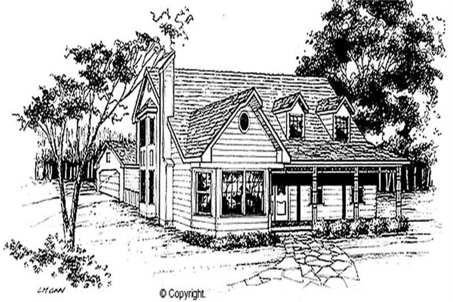 Main image for house plan # 11263