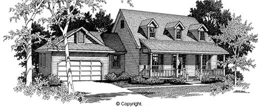Main image for house plan # 11267