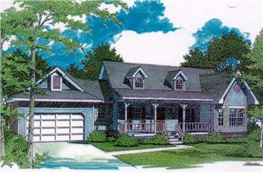 Main image for house plan # 11227
