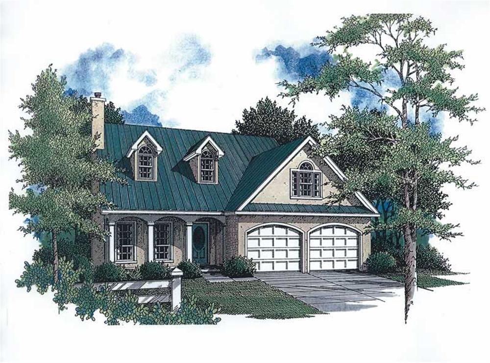 Main image for House Plan # 174-1085