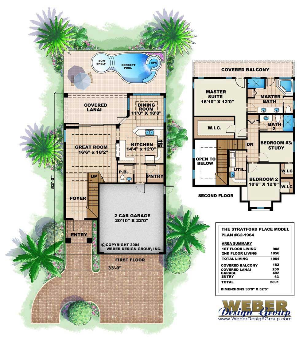 Large images for House Plan        Floor Plans for this set of house plans