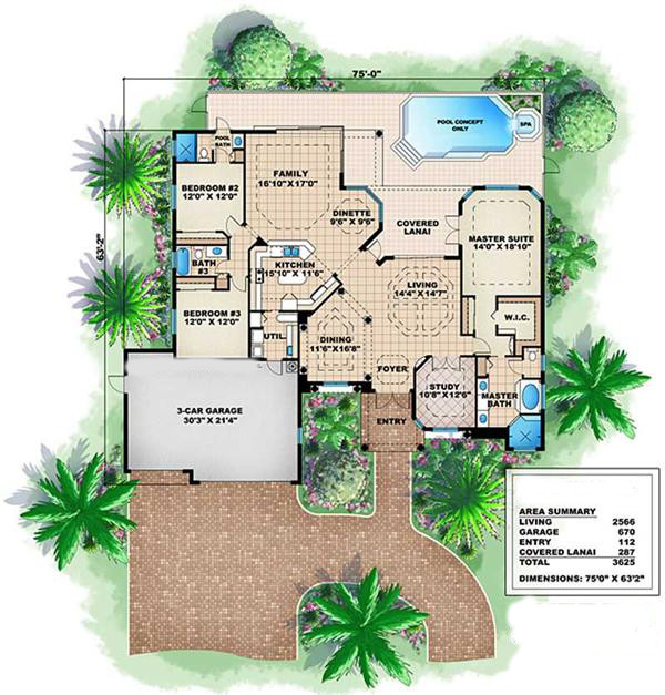 175-1034: Floor Plan Main Level