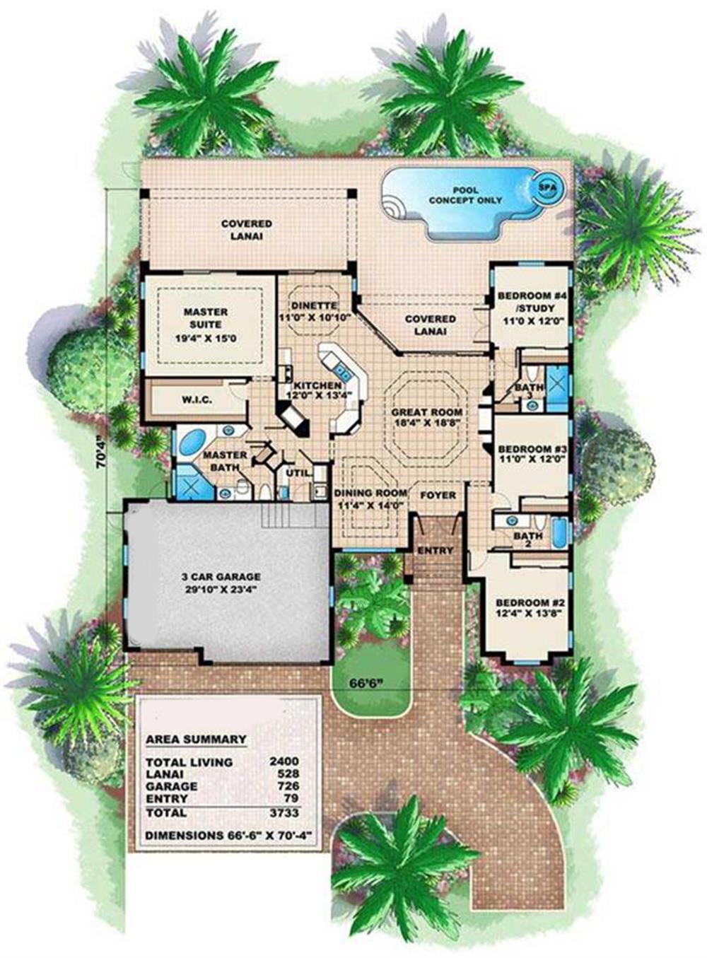 175-1037: Floor Plan Main Level