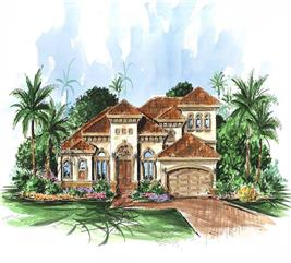 House Plan #175-1045