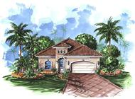 Color Rendering Mediterranean Houseplans.