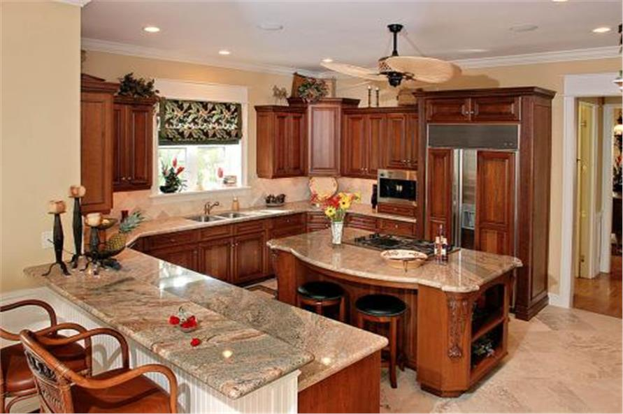 175-1050: Home Interior Photograph-Kitchen