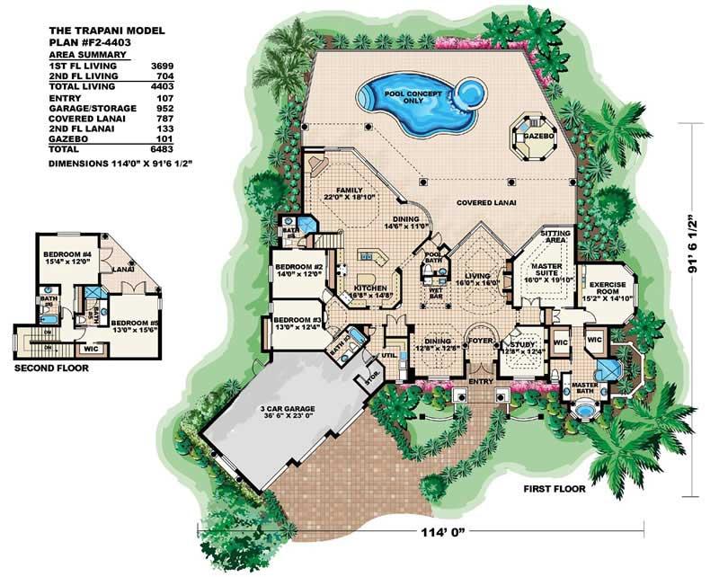 175-1058: Floor Plan Main Level
