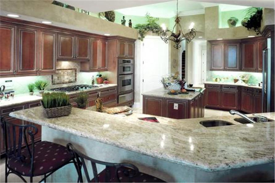 Kitchen of this 3-Bedroom,4000 Sq Ft Plan -4000