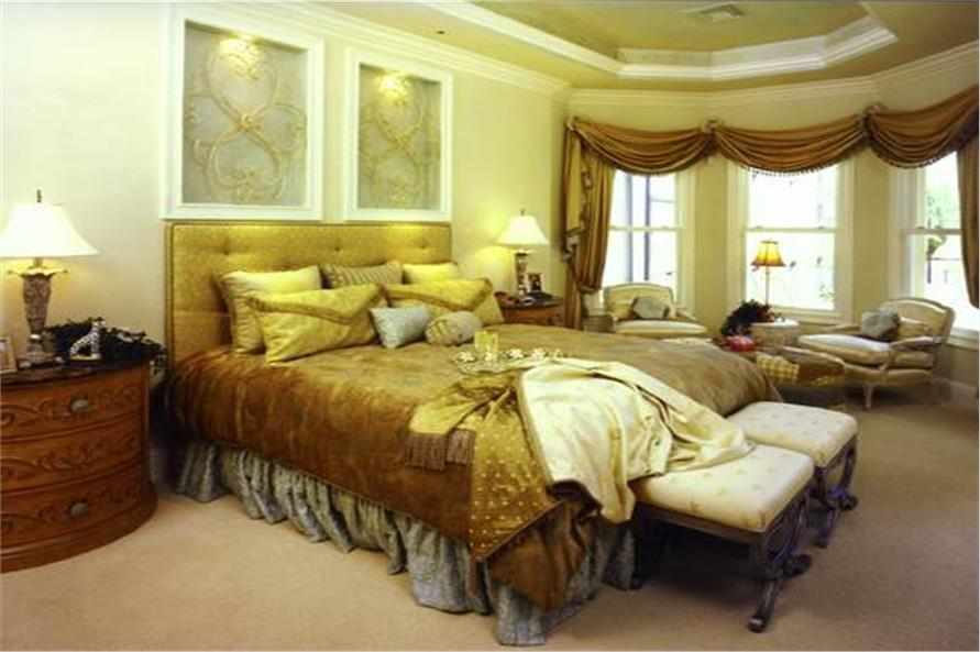 Master Bedroom of this 3-Bedroom,4000 Sq Ft Plan -4000
