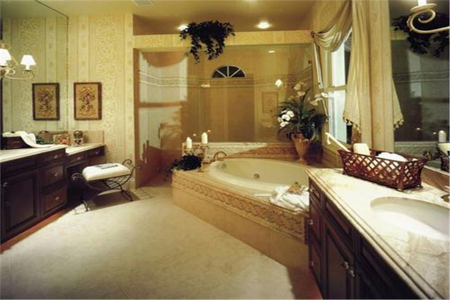 Master Bathroom of this 3-Bedroom,4000 Sq Ft Plan -4000