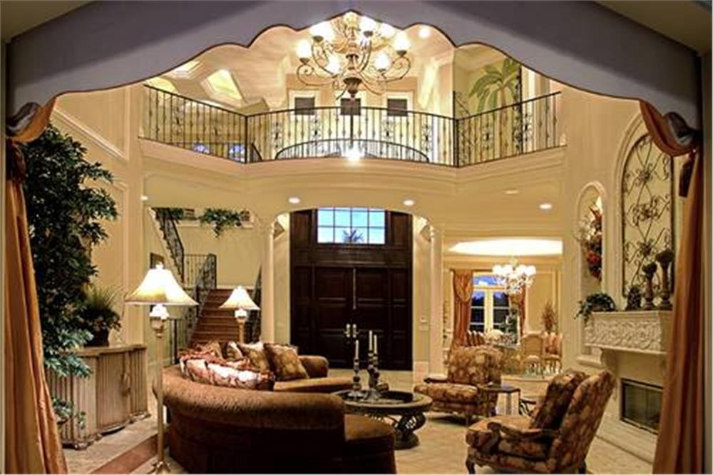 175-1073: Home Interior Photograph-Living Room