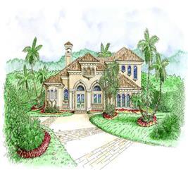 House Plan #175-1075