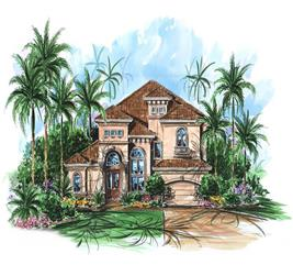 House Plan #175-1076