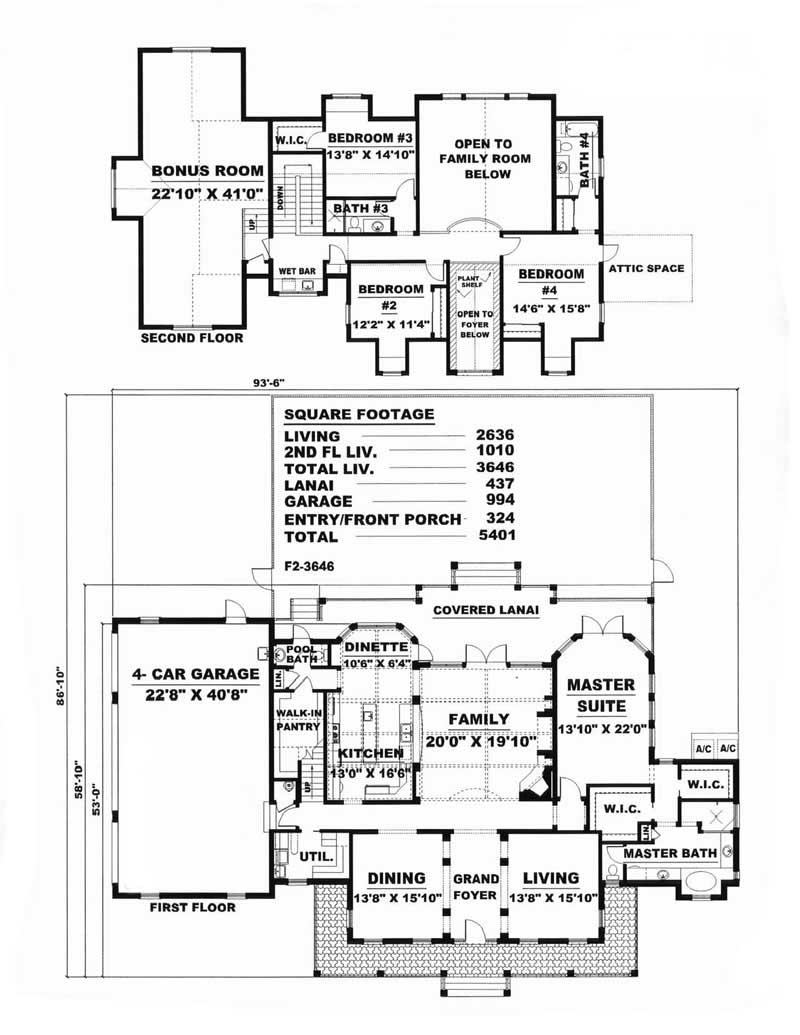 House Plan 175 1083 4 Bedroom 3646 Sq Ft Coastal