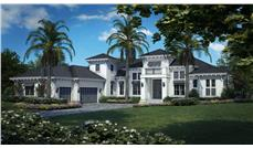 Front elevation of Coastal home (ThePlanCollection: House Plan #175-1115)