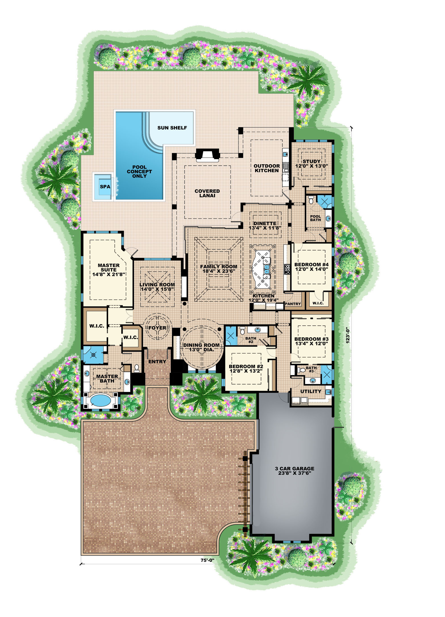 Design Your Own Icf Home Contemporary House Plan 175 1129 4 Bedrm 3869 Sq Ft