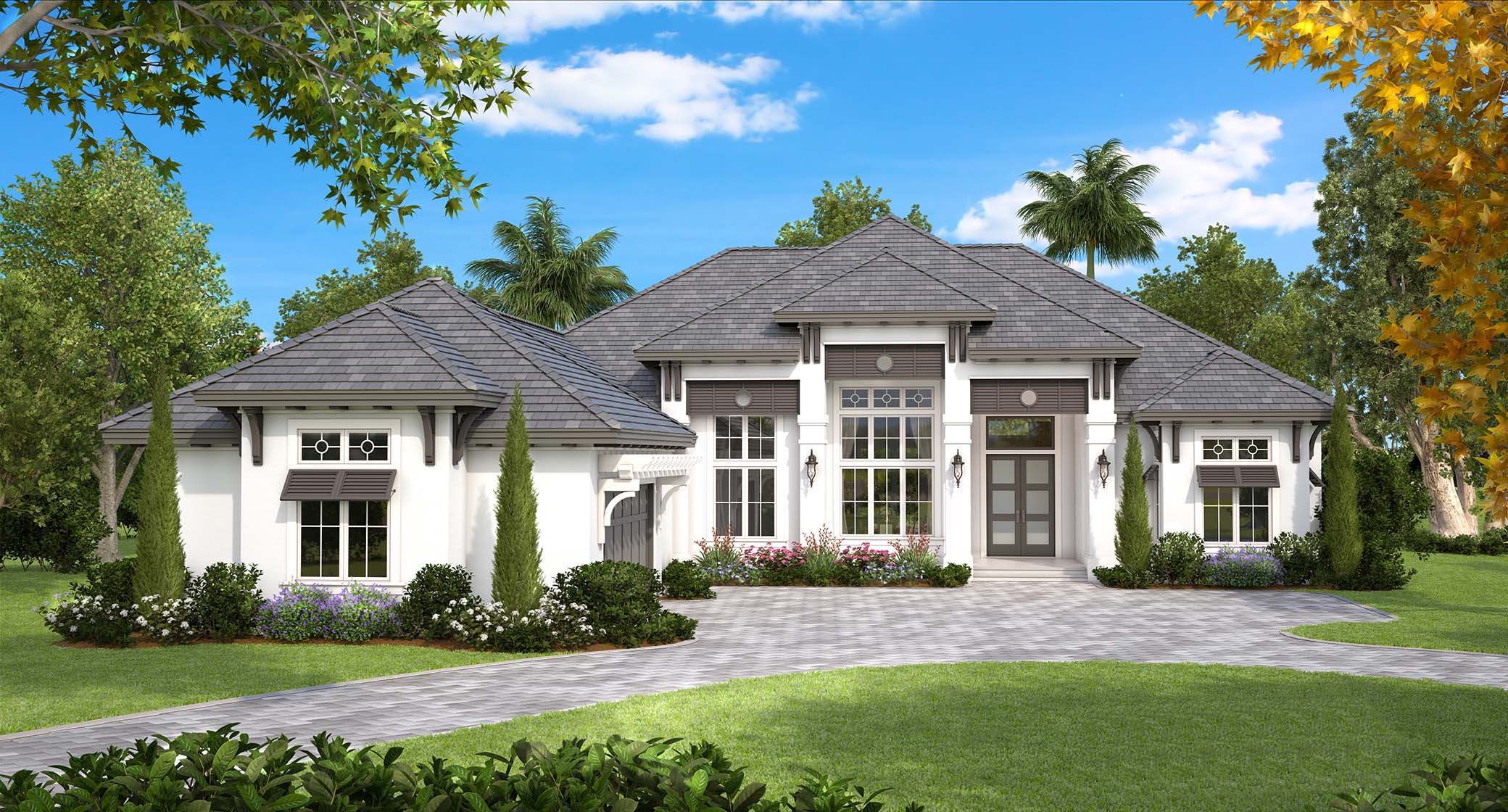 Coastal european house plan 175 1130 4 bedrm 4089 sq ft for Transitional house plans