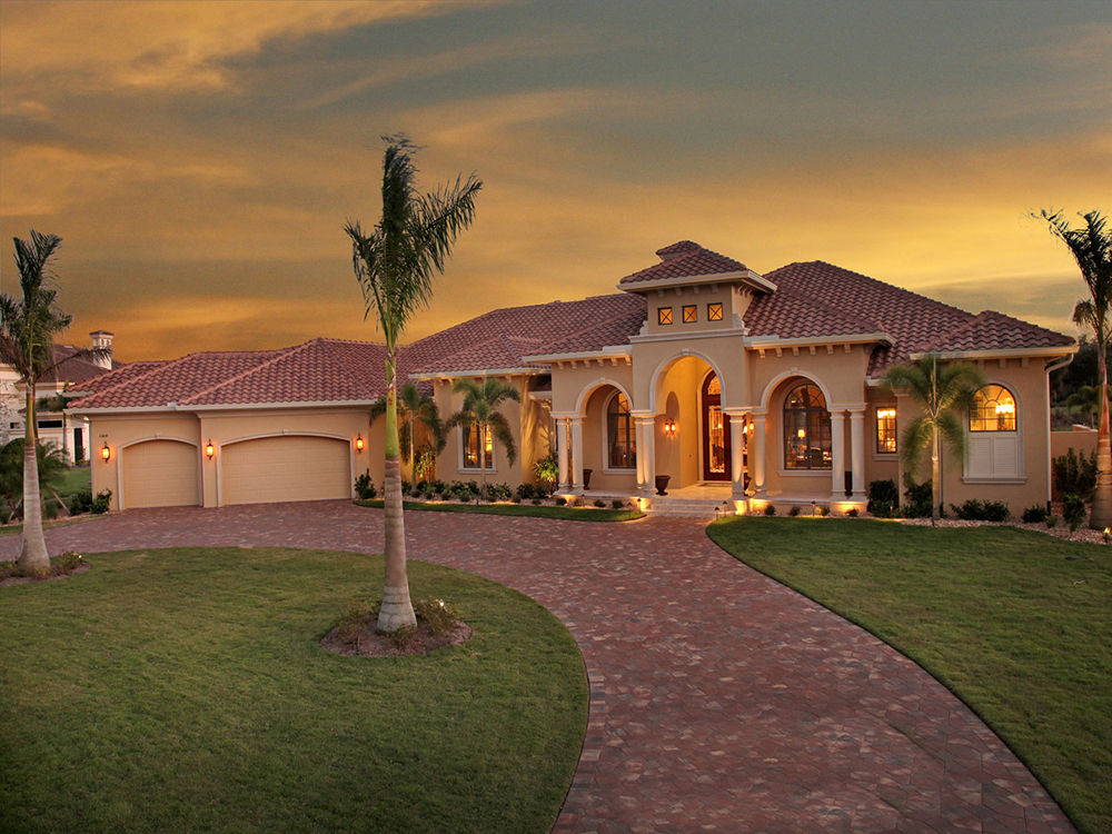New House Design Photos: 4 Bedrm, 4934 Sq Ft Tuscan House Plan #175-1150