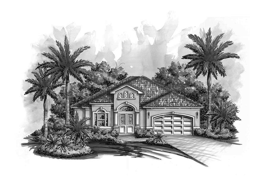 3 Bedrm 2203 Sq Ft Craftsman House Plan 175 1200