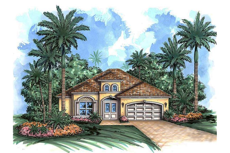 2-Bedroom, 2330 Sq Ft Cottage House Plan - 175-1204 - Front Exterior