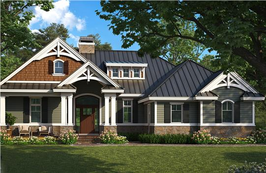 House Plan #G1-1610