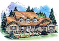Main image for house plan # 2437