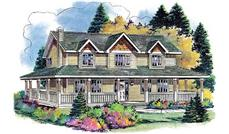 Main image for house plan # 2694