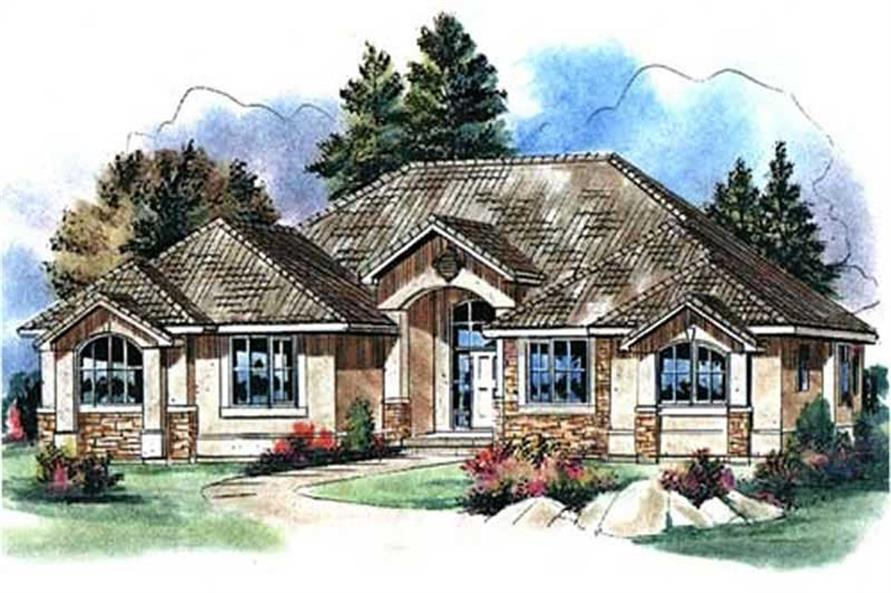 Main image for house plan # 2707