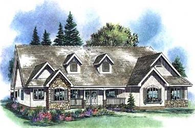 Main image for house plan # 2615