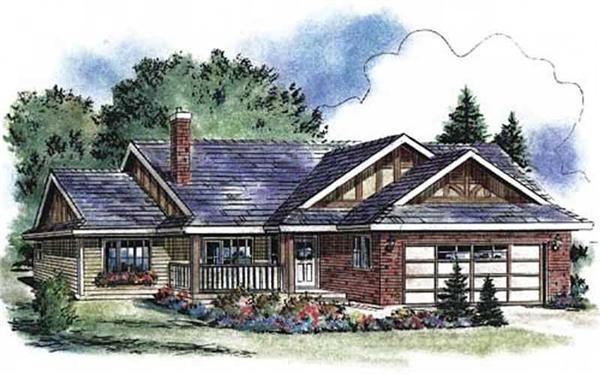 Main image for house plan # 2228