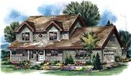 Main image for house plan # 2572