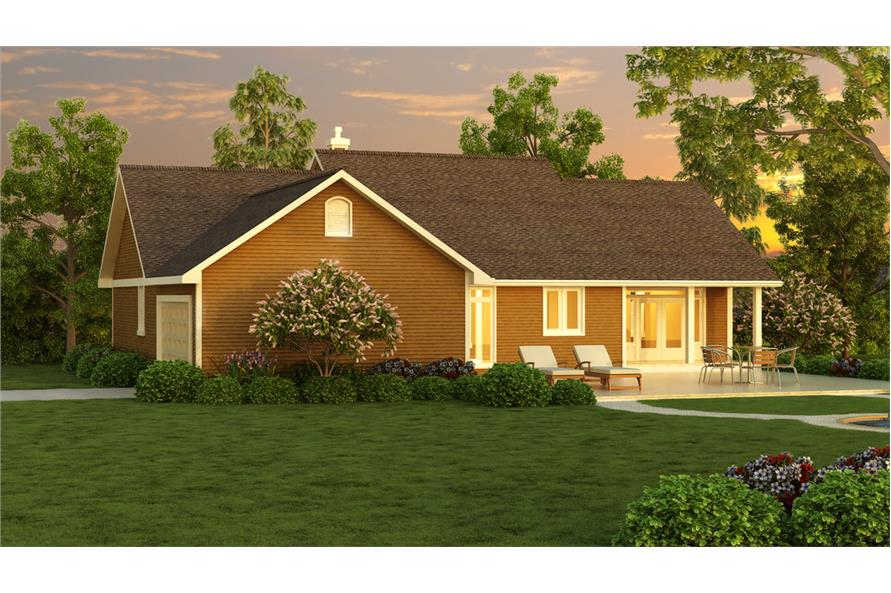 176-1019: Home Plan Rendering