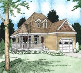 House Plan #177-1000