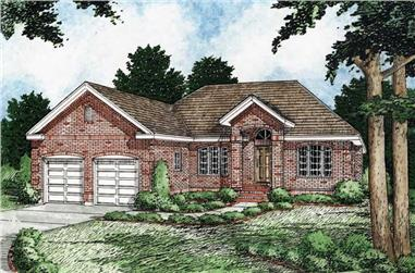 Main image for house plan # 13109