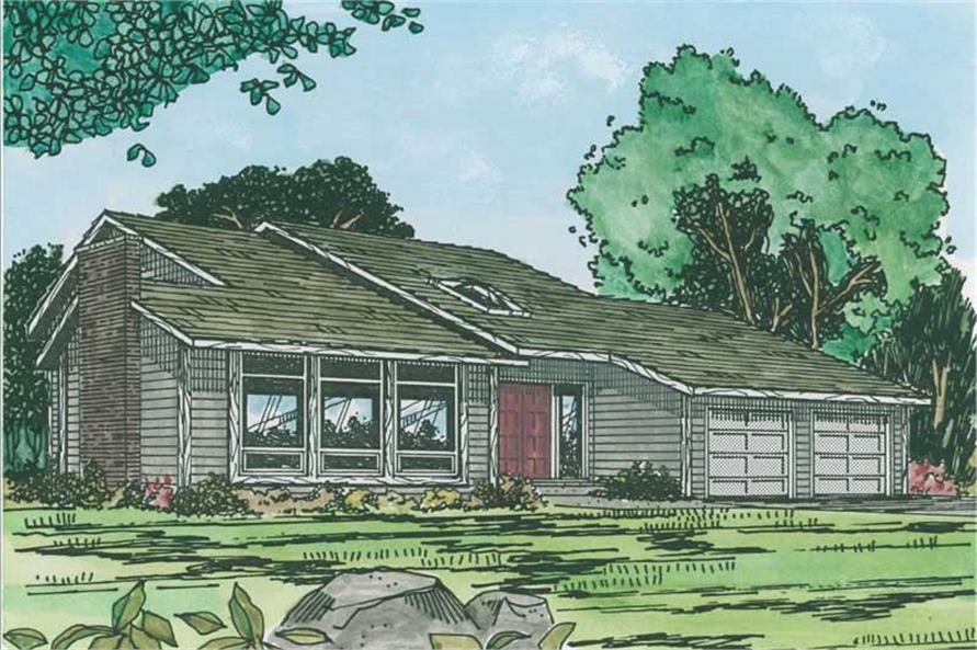 Main image for house plan # 13077